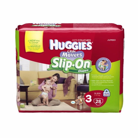 Huggies Baby Diapers Little Movers Slip-On