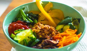 Korean Vegan Bibimbap
