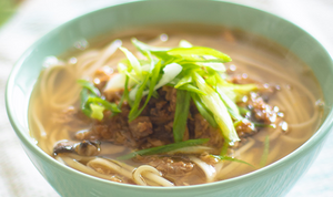 Vegan Asian Noodle Soup