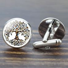 Load image into Gallery viewer, Tree of Life Cufflinks
