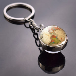 Earth Pendant Key Chain