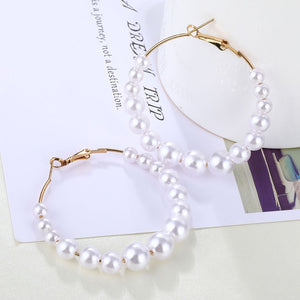 Acrylic Pearl Earrings
