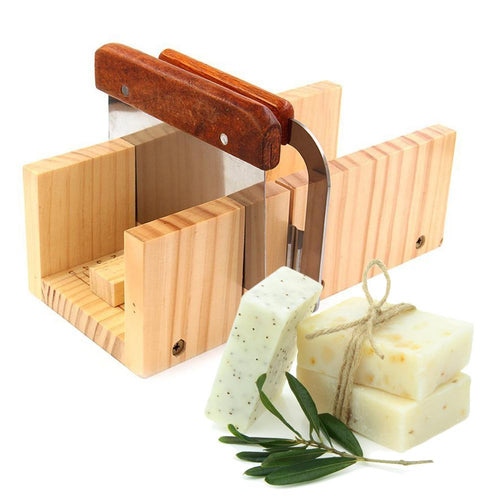 Household Wooden Soap Cutter Box