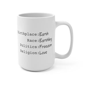 Earthling Collection Mug 15oz