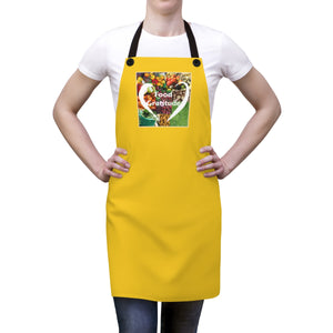 Food Gratitude Apron - yellow