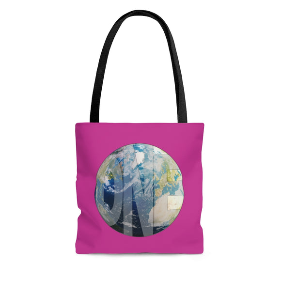Earthling Collection Tote Bag - Pink
