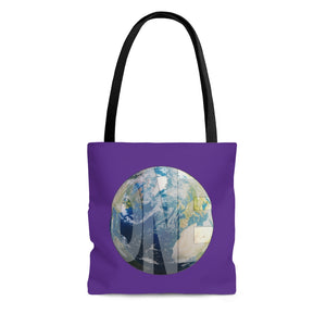 Earthling Collection Tote Bag - Purple