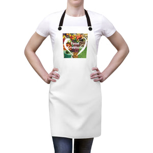 Food Gratitude Apron - white