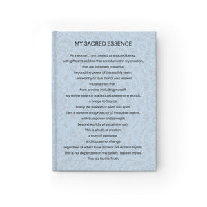 My Sacred Essence Journal - Blank