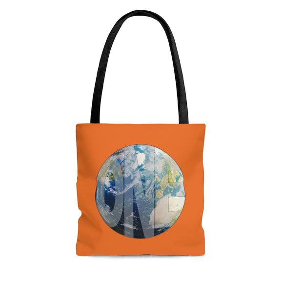 Earthling Collection Tote Bag - Orange