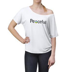 Peaceful Women's Slouchy top