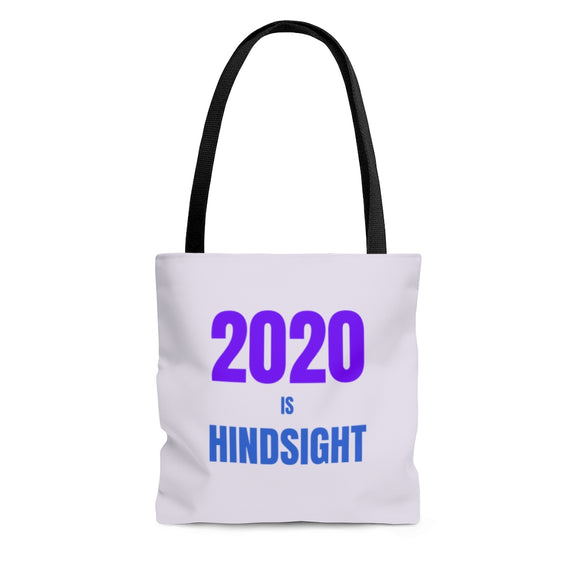 2020 is Hindsight Tote Bag - Light Purple