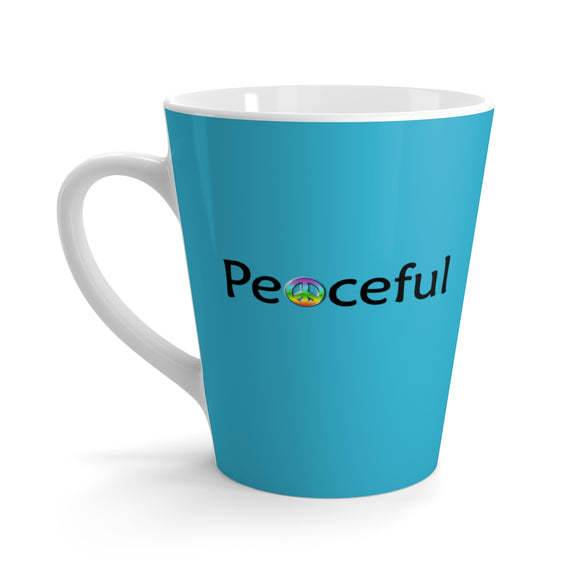 Peaceful Latte mug