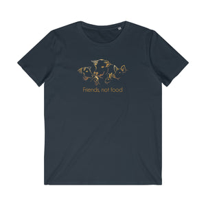 Friends not Food Men's Organic Tee