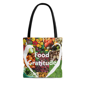 Food Gratitude Tote Bag