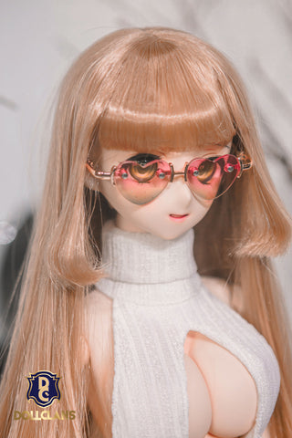 Heart Glasses (Pink-Green)