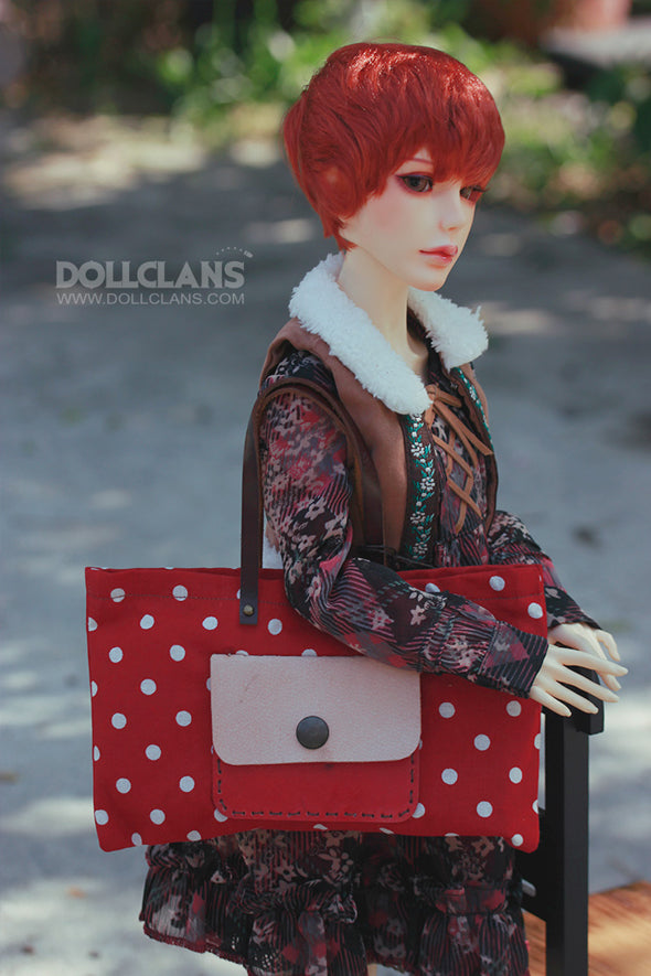 Polka Dot Artist Bag