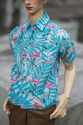 S - Flamingo Shirt