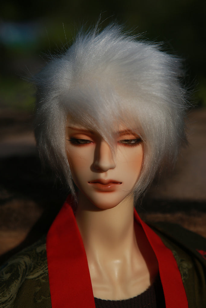 Fur Wig (Misty White)