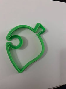 3D Printed Cookie Cutter Inspired by Animal Crossing Leaf