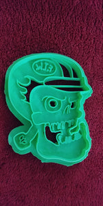 3D Printed Cookie Cutter Inspired by FTW Hot Rod Racer Skull