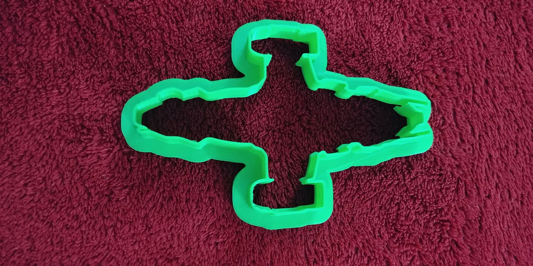 Set of 6 Movie Sampler Cookie Cutters