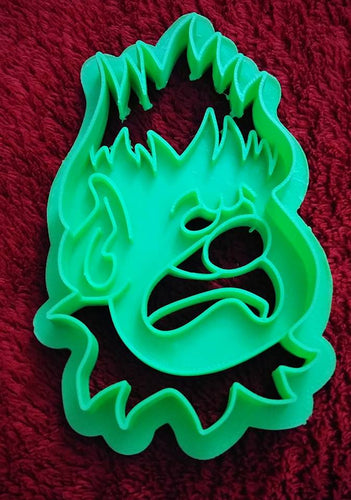 3D Printed Cookie Cutter Inspired by Christmas Heat Miser