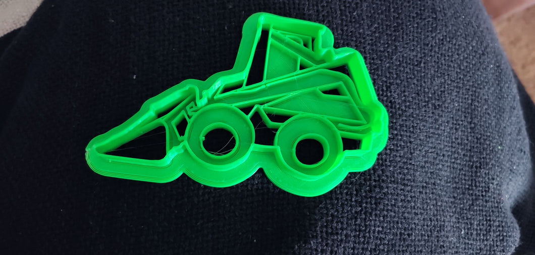 3D Printed Skid Steer 555 Cookie Cutter