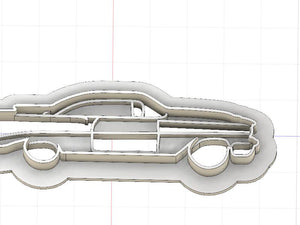 3D Printed Cookie Cutter Inspired by 1959 Pontiac Catalina