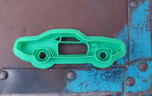 3D Printed Cookie Cutter Inspired by a '71 cuda
