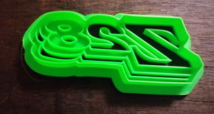 3D Printed Cookie Cutter Inspired by 1977 Chevy Camaro Z28 Emblem