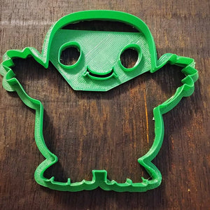 3D Printed Cookie Cutter Inspired by Dr. Who Adipose