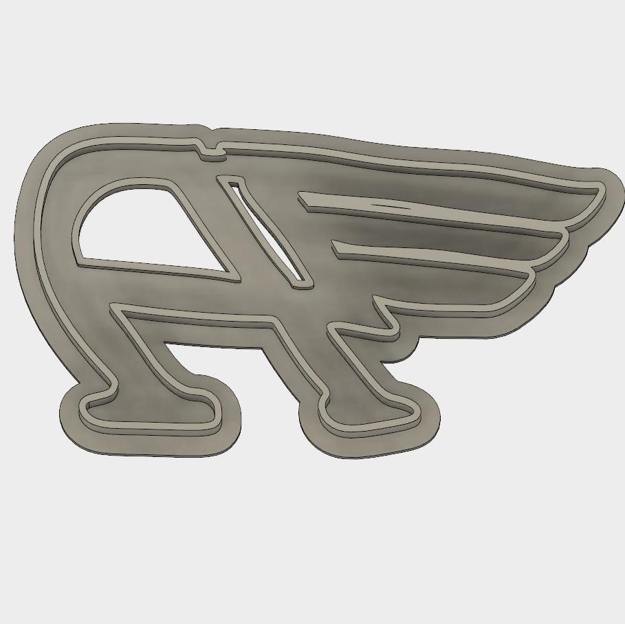 Model to Print Your Own Austin Flying A Hood Ornament Cookie Cutter DIGITAL FILE ONLY