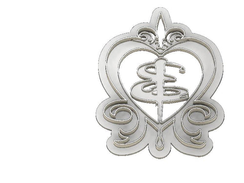 3D Printed Cookie Cutter Inspired by Buffy the Vampire Slayer Heart