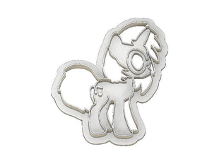 3D Printed Cookie Cutter Inspired by MLP DJ PON3
