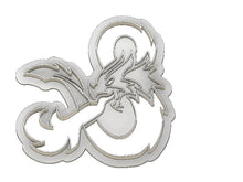 Load image into Gallery viewer, 3D Printed Cookie Cutter Inspired by the DnD Logo