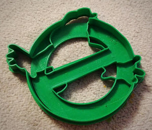 3D Printed Cookie Cutter Inspired by Ghostbusters Logo