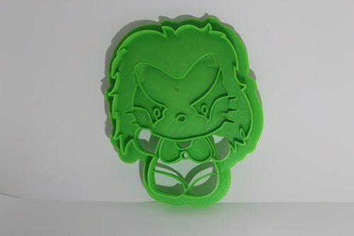 3D Printed Cookie Cutter Inspired by Kawaii Thundercats Cheetara