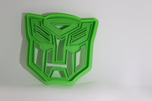 3D Printed Cookie Cutter Inspired by Transformers Autobots Crest