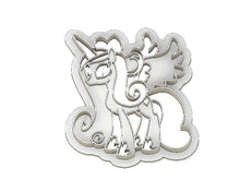 Load image into Gallery viewer, 3D Printed Cookie Cutter Inspired by the MLP Princess Cadence