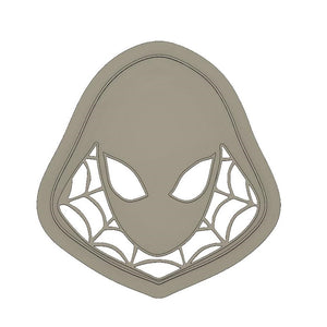 3D Printed Cookie Cutter Inspired by Marvels Spider Gwen