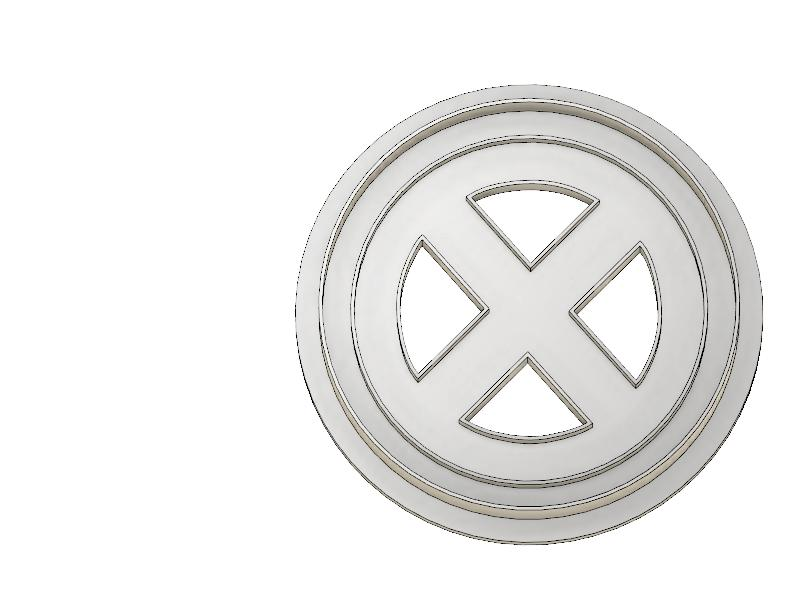 3D Printed Cookie Cutter Inspired by Marvels X-Men
