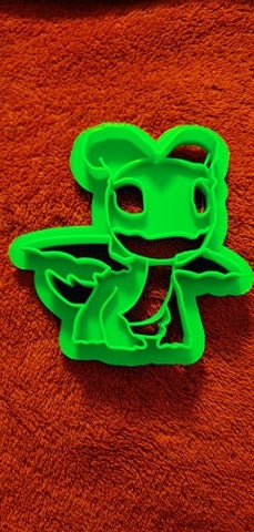 Printed Cookie Cutter Inspired by Dragons Rescue Riders Aggro