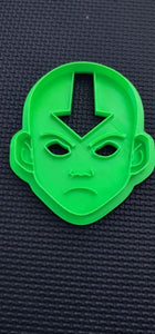 Set of 4 3D Printed Avatar the Last Air Bender Inspired Cookie Cutter