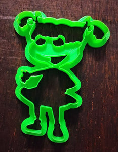 3D Printed Cookie Cutter Inspired by Nickelodeon Rugrats Angelica