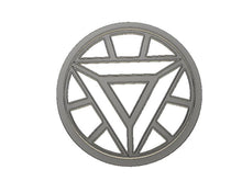 Load image into Gallery viewer, 3D Printed Cookie Cutter Inspired by Ironman Arc Reactor