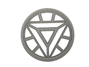 3D Printed Cookie Cutter Inspired by Ironman Arc Reactor
