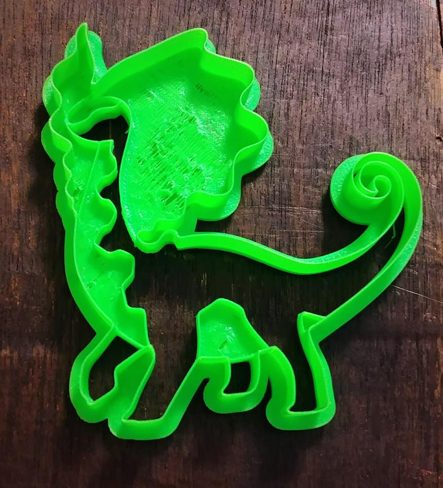 3D Printed Cookie Cutter Inspired by Pokemon Aurorus
