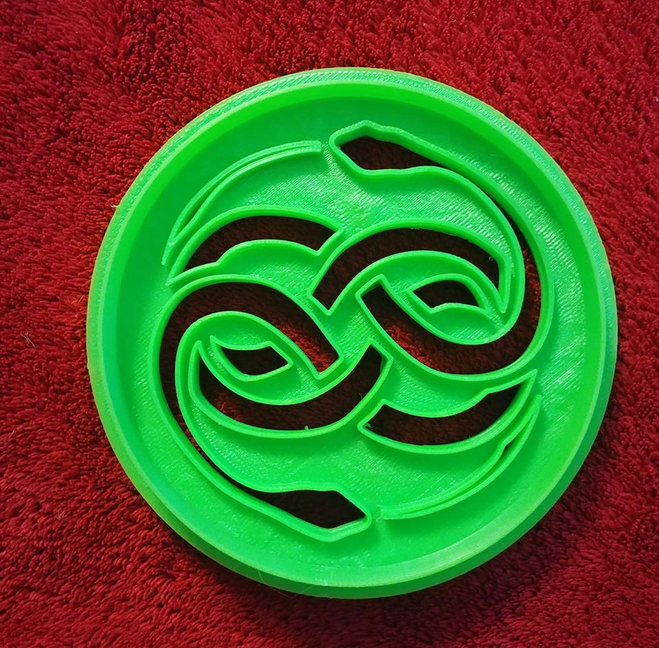 3D Printed Cookie Cutter Inspired by Never Ending Story Auryn