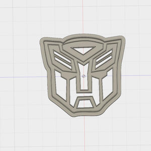 Model to Print Your Own Transformers Autobot Crest Cookie Cutter DIGITAL FILE ONLY